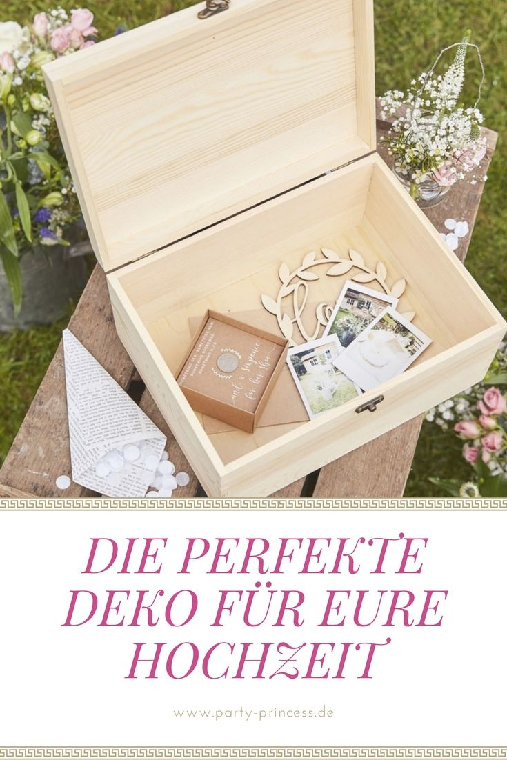 Tolle Holzbox Zur Aufbewahrung Fur Eure Erinnerungen An Die