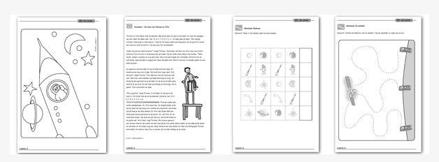 Lesmateriaal In de Ruimte - http://onderwijsstudio.nl/product/plusthema-in-de-ruimte-download/