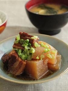 圧力鍋で20分!豚バラ肉と大根の煮物 by 森崎 繭香さん / レシピサイト「ナディア / Nadia」/プロの料理を無料で検索