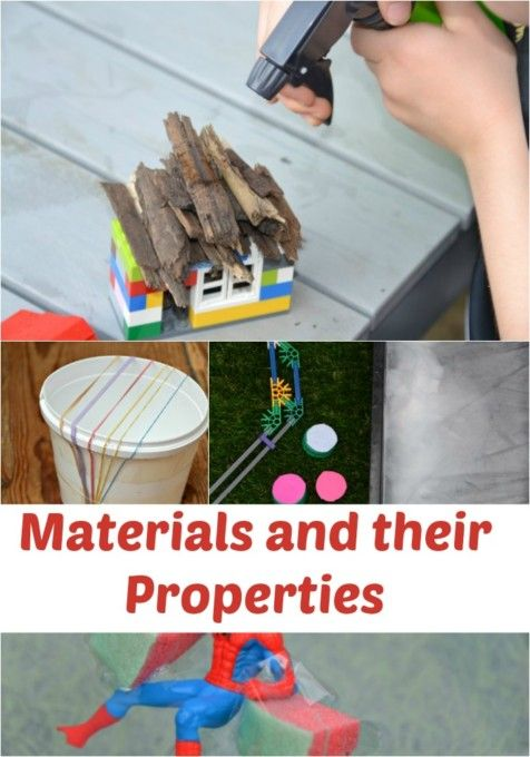 Fun ideas for learning about materials and their properties 2