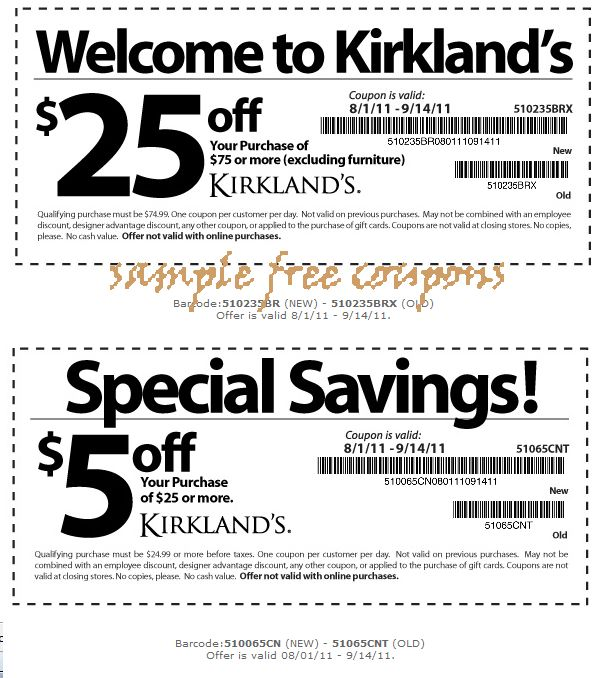 Kirklands Coupons July 2014. 37 best printable coupons images on Pinterest   Coupon codes  Free