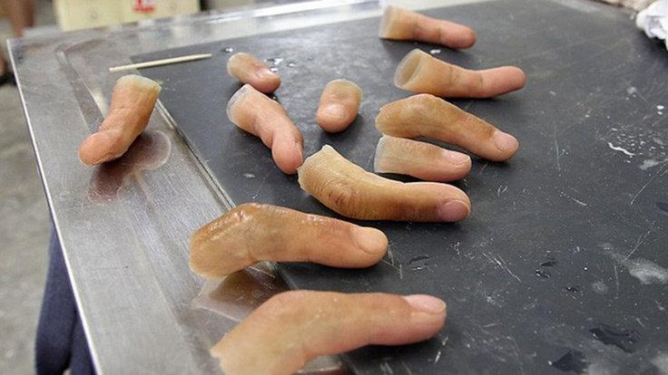 Did you Know that in Japan you can Buy Silicone Fingers? #science #Yakuza #fingers