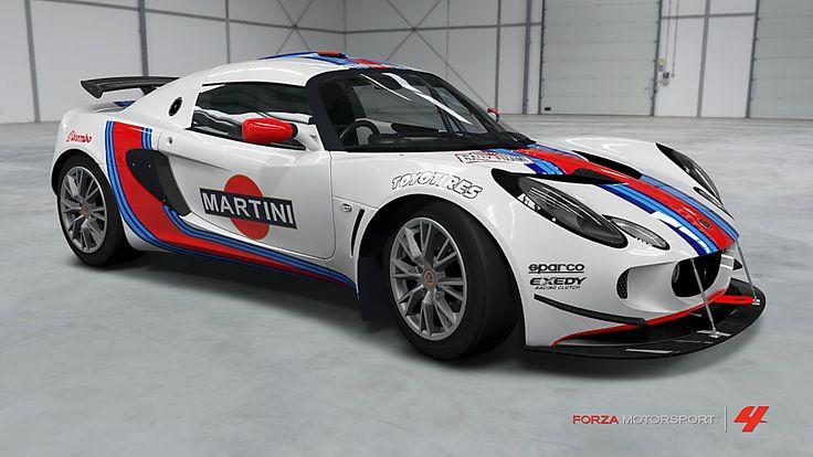 Découvrez la Lotus Exige Cup 240 de agi concept en photo dans Forza Motorsport 4 et donnez votre avis grâce aux commentaires. Si, vous aussi, vous souhaitez partager vos clichés réalisés dans Forza Motorsport 4, cliquez ici pour les ajouter dans la vitrin...