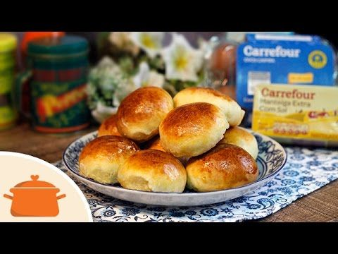 Pão de Batata com Recheio de 3 Queijos - Chef Carrefour - YouTube