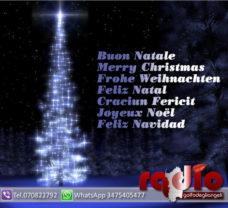 Auguri Buon Natale 2014
