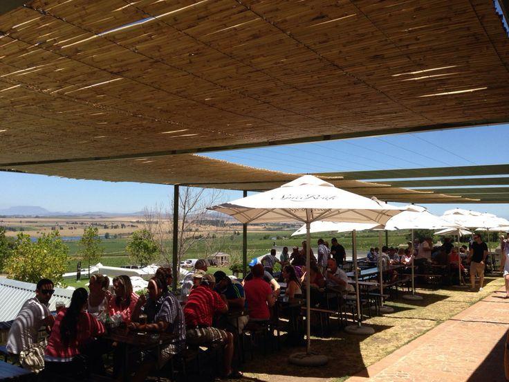 CBC Beer, pizza, coffee, chocolate, glass blowing, biltong,  restaurant, amaaaaaizing views... Gotta love Paarl