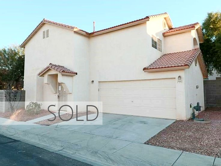 SILVERADO RANCH HOME SOLD! 791 DOBOSH AVENUE Las Vegas, NV 89123  --  Are you thinking about selling your home? Call us at (702) 777-1234 for a 'FREE Market Valuation Analysis' of your home!