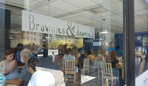 Brownies and Downies: Turning Coffee into Social Change  #coffeeshop #inclusion #makeanimpact