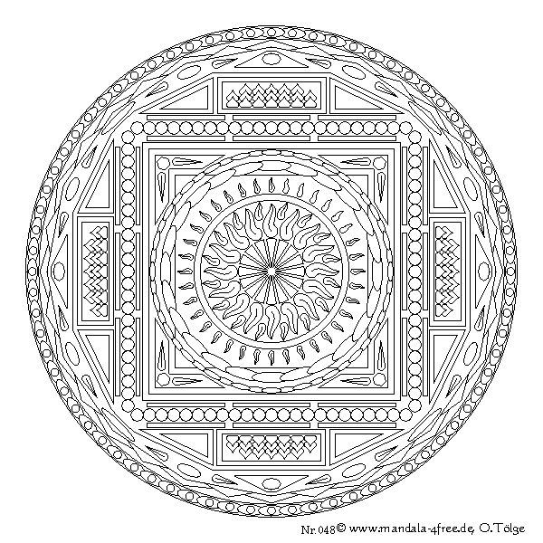 14 best images about mandalas and thangkas to color on