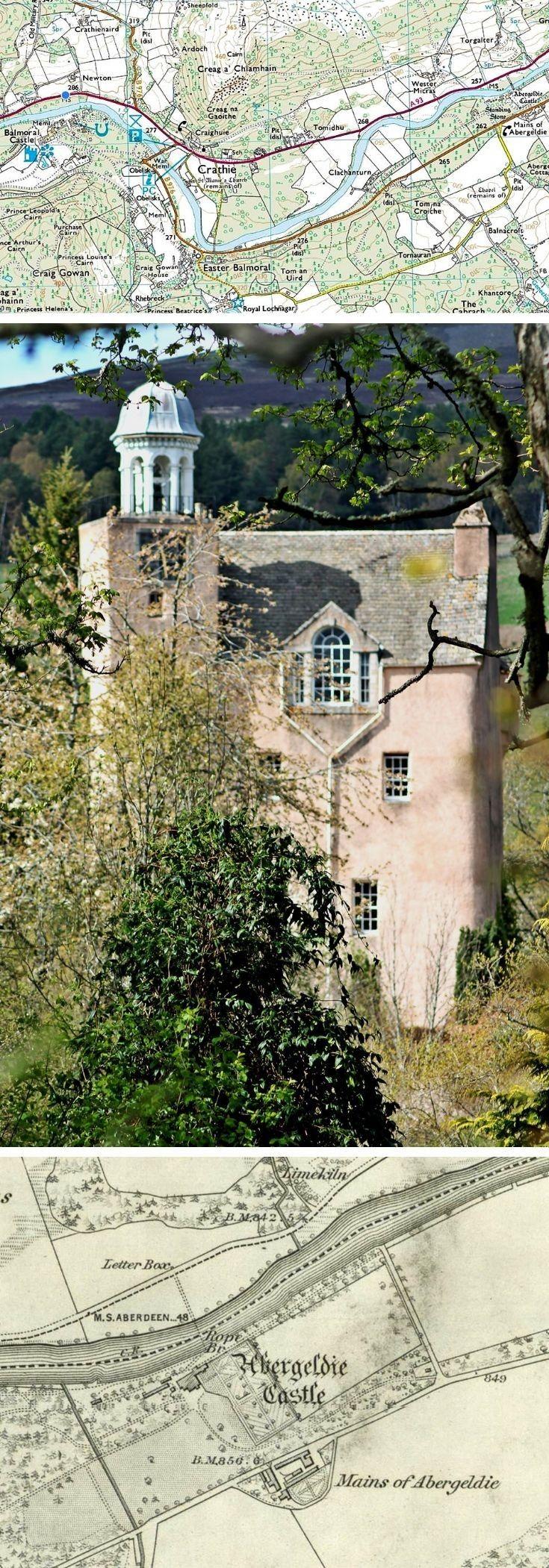 Abergeldie Castle, Glenbucket, Aberdeenshire.