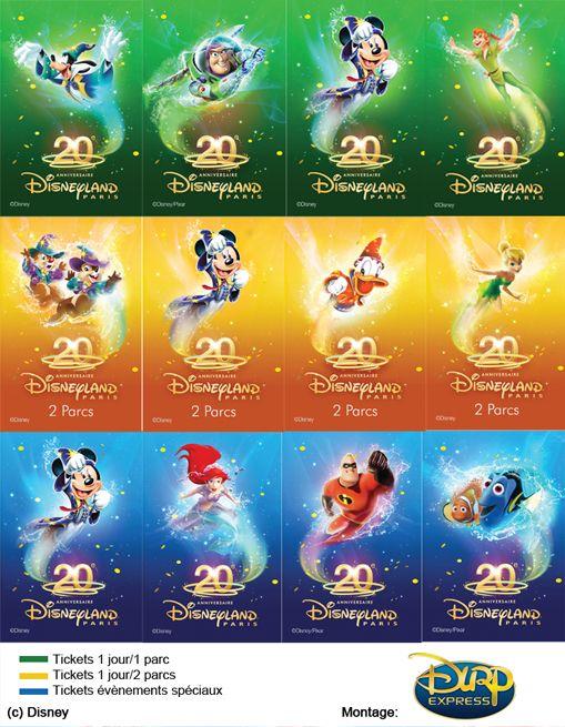 Disneyland Paris tickets... Pretty neat!