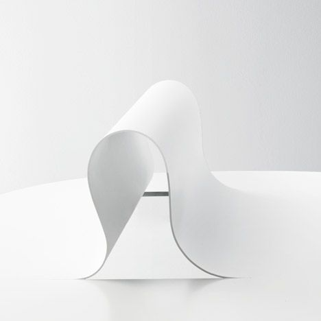 Nendo manipulates metal to form Softer than Steel furniture collection.