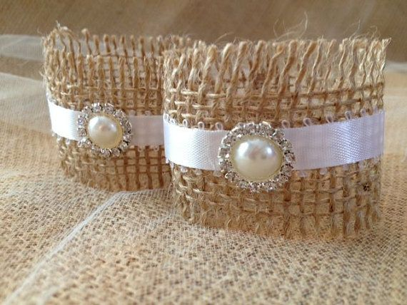 Vintage Pearl Napkin Holders for Rustic by TuttiRoseDesigns, $35.00