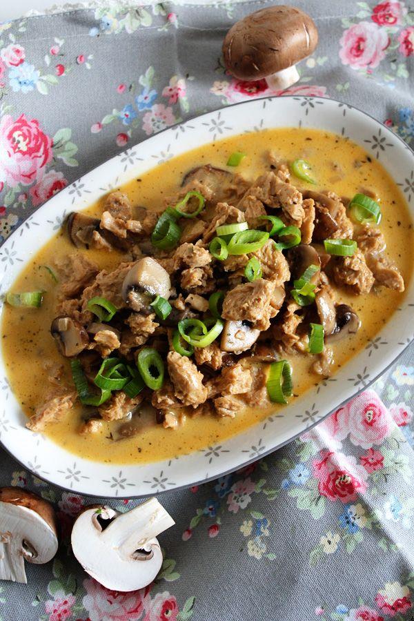 soja geschnetzeltes z richer art vegetarisch sch n und fein food pinterest tofu. Black Bedroom Furniture Sets. Home Design Ideas