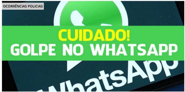 #News  Casal cai em golpe no Whatsapp e perde dinheiro em São Lourenço, MG