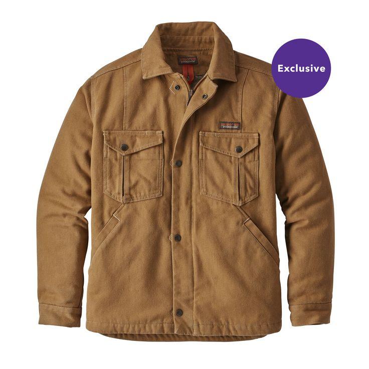 Patagonia Men's Iron Forge Hemp™ Canvas Ranch Jacket