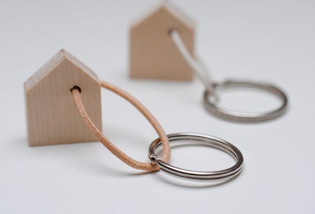 Schlüsselanhänger Häuschen