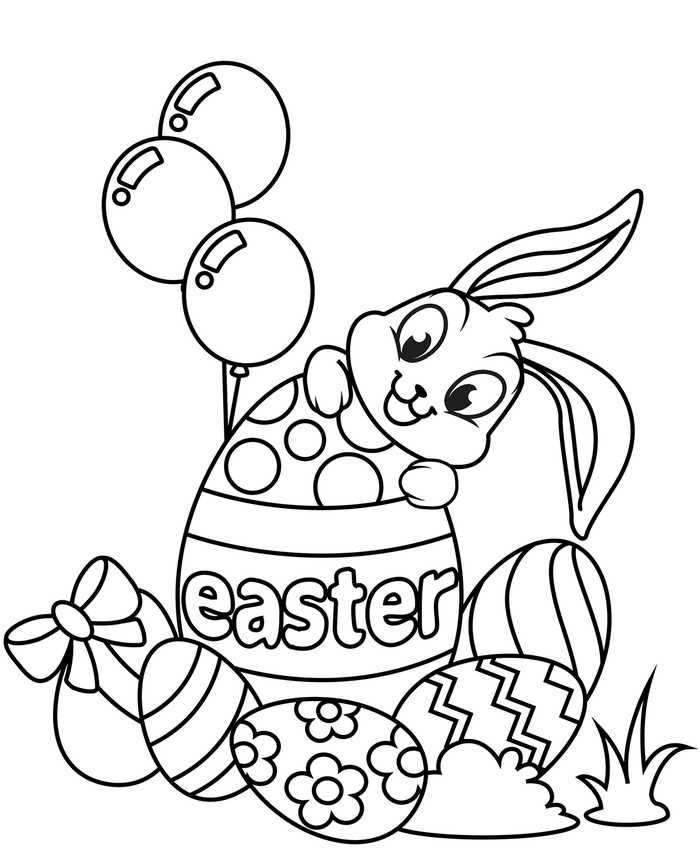 Easter Rabbit Coloring Pages Printable Bunny Coloring Pages Easter Coloring Book Easter Bunny Colouring