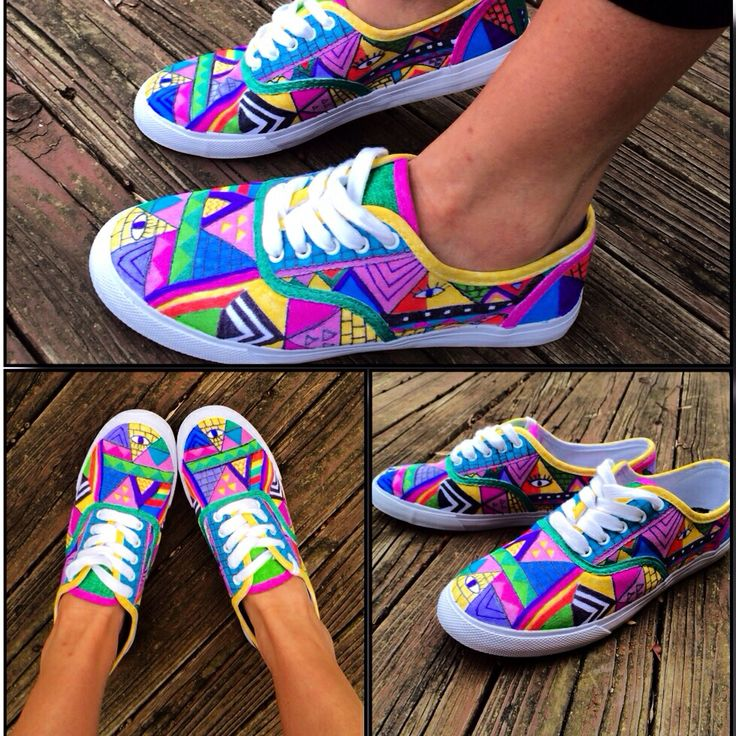 86 best colorful vans^^^* images on Pinterest | Diy ...