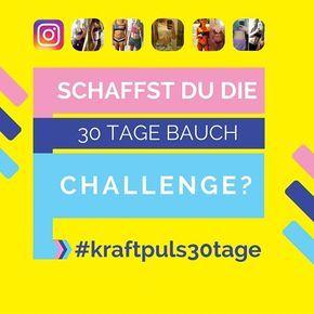 schaffst du die 30 Tage Bauch Challenge? #instagram