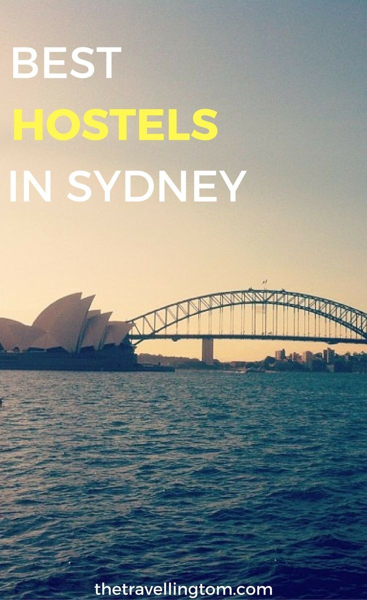 Ultimate list of best hostels in Sydney. The definitive guide to cheap accommodation in Sydney. Want to know where to stay in Sydney, then check out my guide below!  Sydney travel | backpackers in Sydney | Sydney hostels | places to stay in Sydney | Sydney accommodation | Sydney backpackers | visit Sydney #sydney #hostels #australia