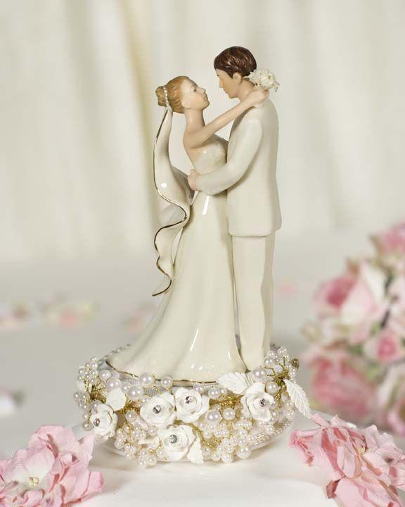 Wish bride had darker hair & groom was in a black tux...