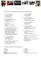 A diagnostic test for B1 students. There are three sections: grammar, reading and writing. The grammar section has got thirty activities related with verbal tenses, passive voice, conditional sentences and so on. - ESL worksheets