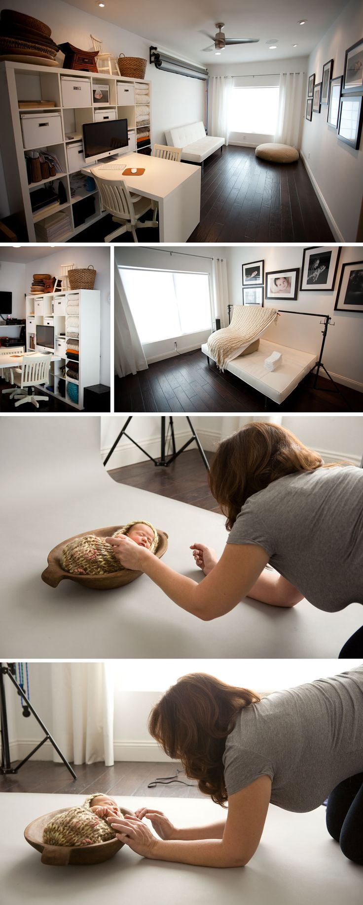 Natural light photo studio - I want a studio like this one, pretty please!