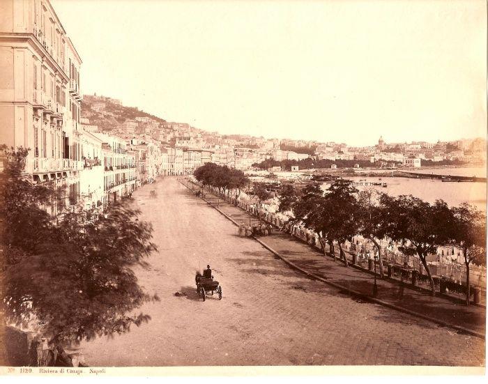 NAPOLI storica - Historic pics of NAPLES - Riviera di Chiaia