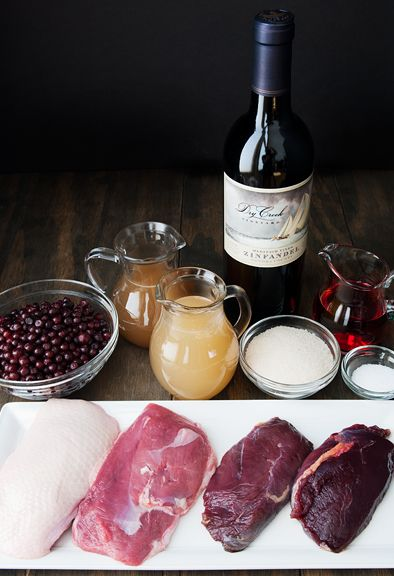 seared duck breast with huckleberry gastrique recipe | use real butter
