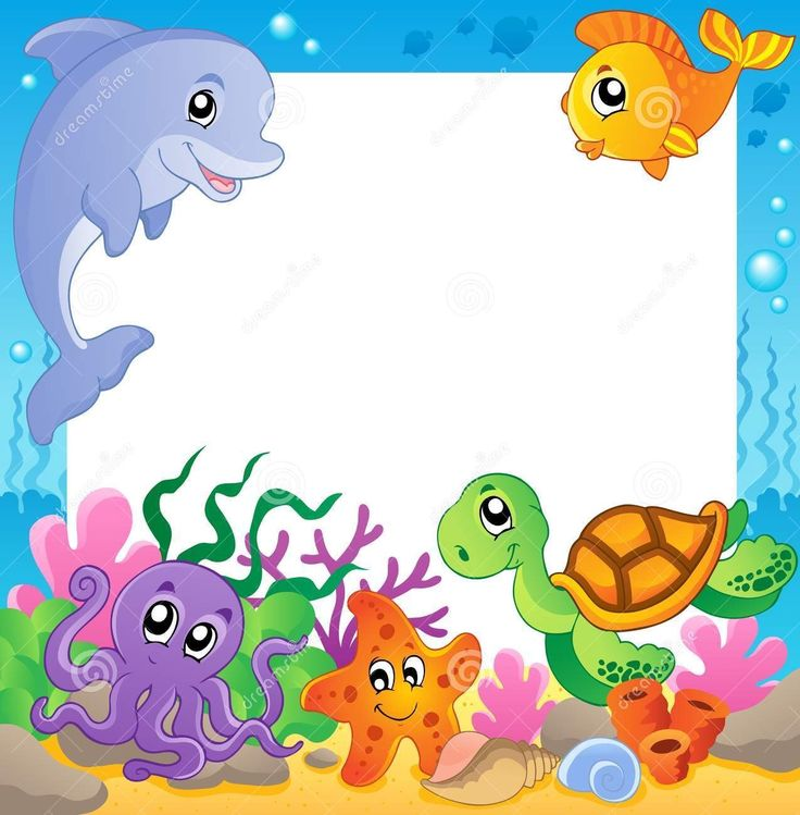 Dreamstime.com #sealife #frame