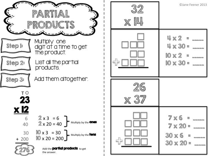 Worksheets Partial Product Multiplication Worksheets partial product worksheets delibertad products worksheet delibertad