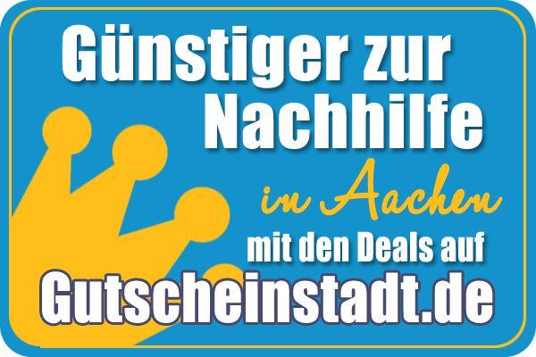 Günstig zur #Nachhilfe vielleicht in #Aachen mit #Gutscheinstadt?