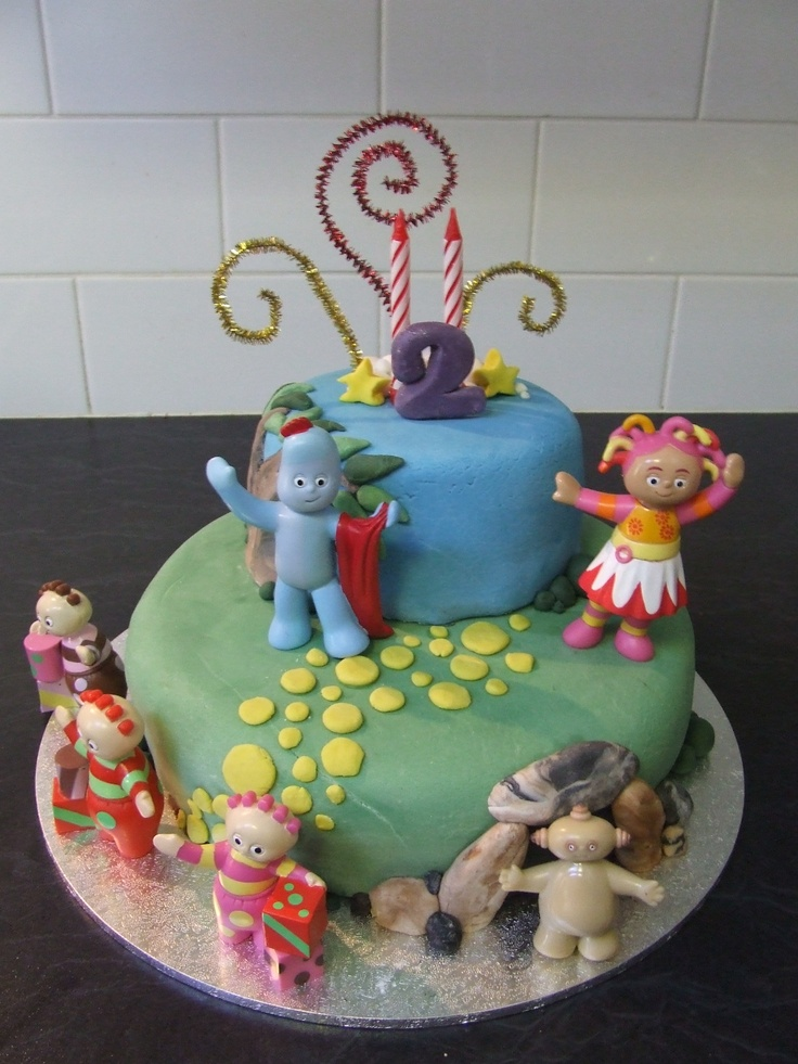 27 best images about night garden on pinterest gardens for In the night garden cakes designs