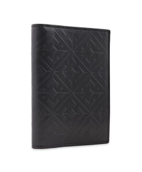 Hardy Amies embossed monogram leather card holder. Italian leather, made in Italy. . #Dapper #Gentleman #Men #Menswear #BritishTailoring #Suit #SlimFit #Shirt #Tailored #Vintage #Class #Streetstyle #Classic #Classy #HardyAmies #LondonStyle #ModernMan