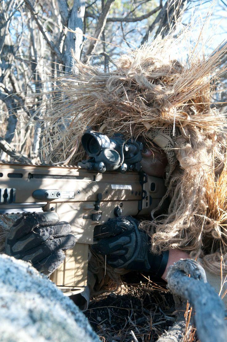 Navy Seal designated marksmen