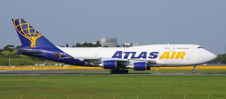 Boeing 747-446(BCF) - Atlas Air