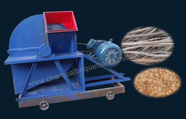 This kind of wood grinding machine adopts blade cutting principle and high-speed airflow impact to cut biomass materials with diameter of 5cm-20cm into biomass powder products. Wood chipper consists of cutting device, grinding device and air blower, with the feature of high output and flexibility, this wood grinding equipment is widely used in wood pellet plant and biomass briquetting plant. E-mail: briquettepress2013@gmail.com