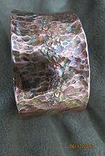 http://elgabe1955.wix.com/summerbreeze1    25.-$ flame painted copper cuff handmade