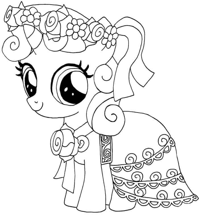 My Little Pony Coloring Pages Flurry Heart My Little Pony Coloring Horse Coloring Pages Pony Drawing