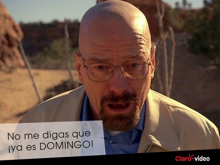 No desesperar Walter, en #Clarovideo tenemos un buen plan para hoy. #BreakingBad