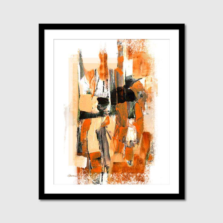 Printable Abstract painting Printable par ArtooshPrintables sur Etsy