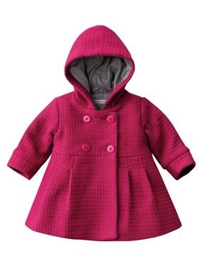 ღ¸.•❤ inverno... baby coat.
