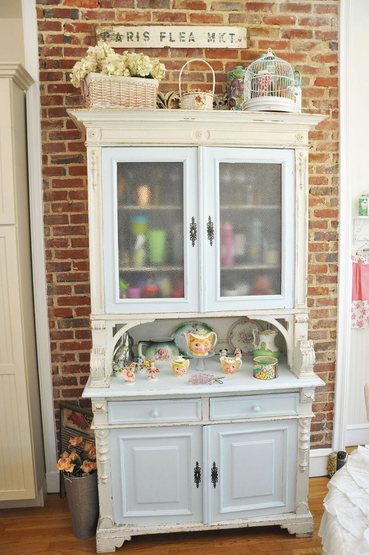 Re-painted hutch