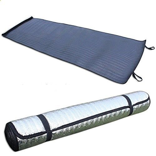 Topoint 1 Person Camping Mat Moistureproof Pad Outdoor Aluminum Cushion Pad Waterproof Tent Picnic Blanket -- Learn more by visiting the image link.(This is an Amazon affiliate link)