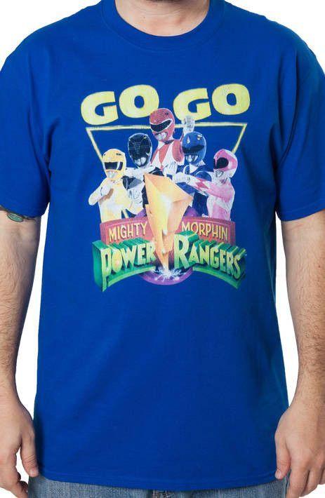 Go Go Power Rangers T-Shirt - TV T-Shirt