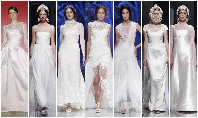 Escote ilusion vestido de novia