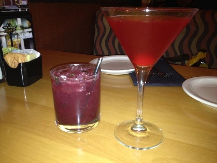 Martini y mojito Blueberry