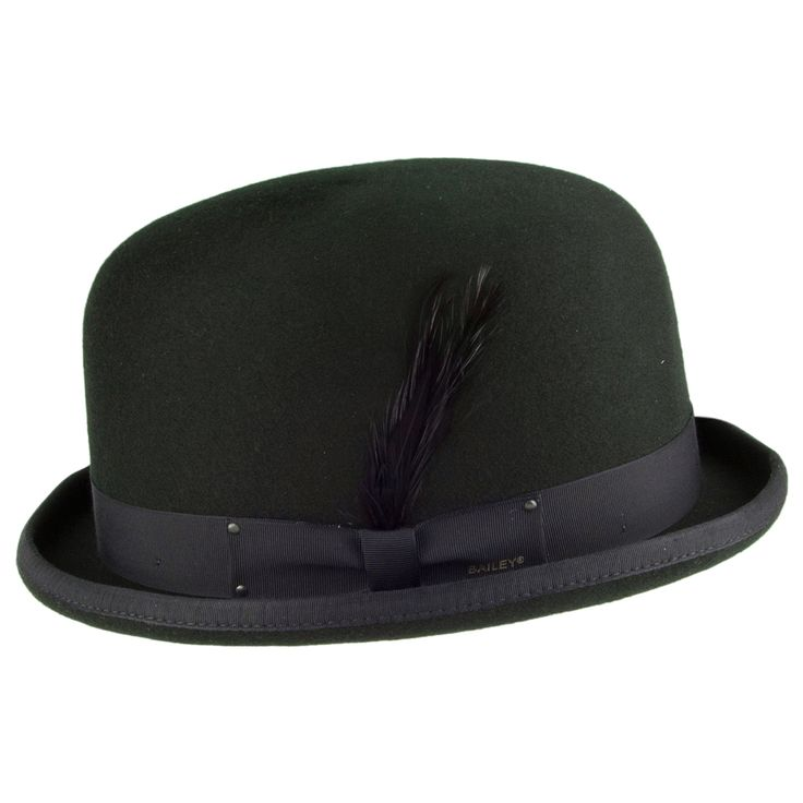 Bailey Hats Harker Bowler Hat - Forest