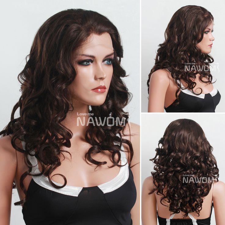 brown curly hair lowlights - Google Search
